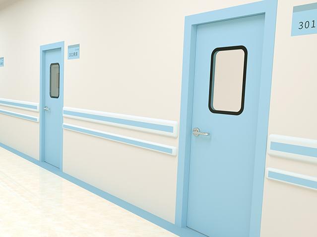 医院洁净钢质门日常需要做好哪些清洁维护工作?