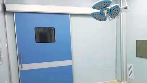 广州林森易洁门为你解析医院净化门的安装标准
