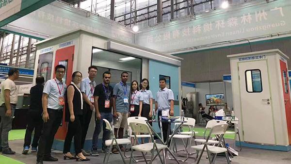 广州林森易洁门亮相第五届亚太洁净技术与设备展览会
