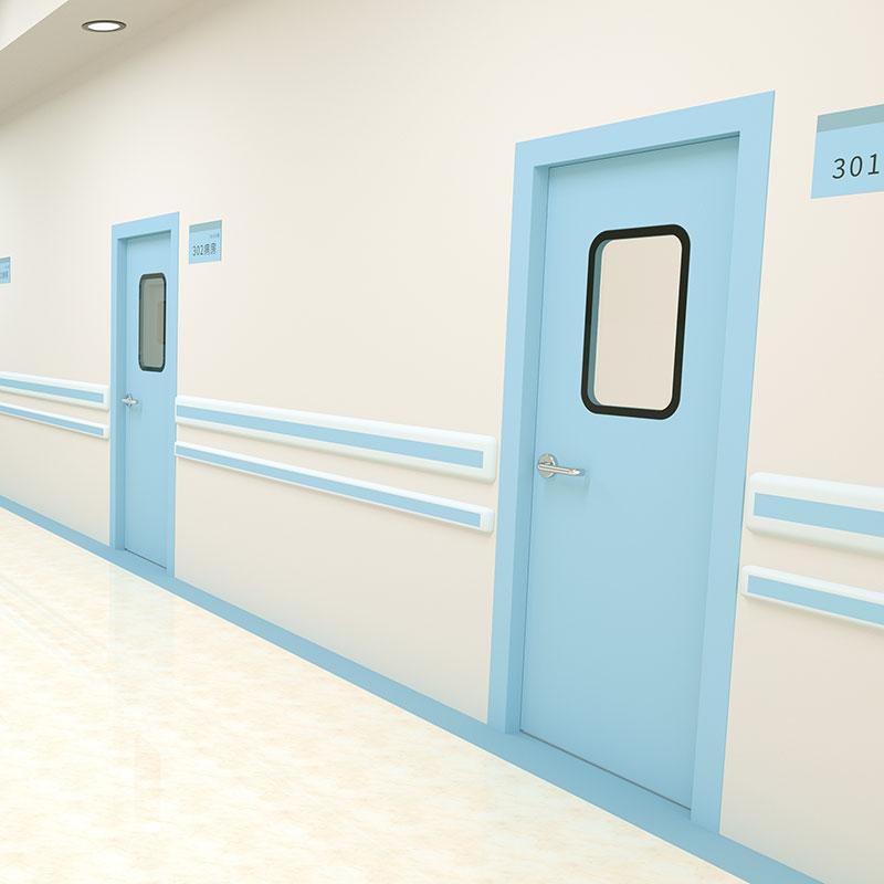 铝钢医用洁净门