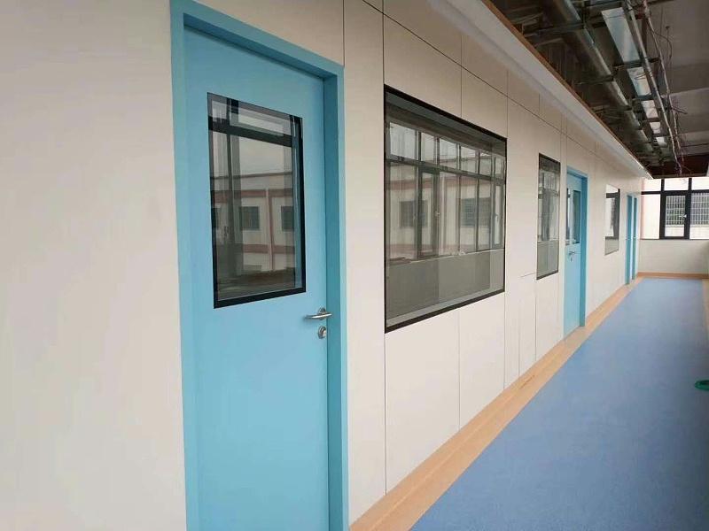 为何医院只用钢制洁净门而不用木制的呢?-【林森易洁门】