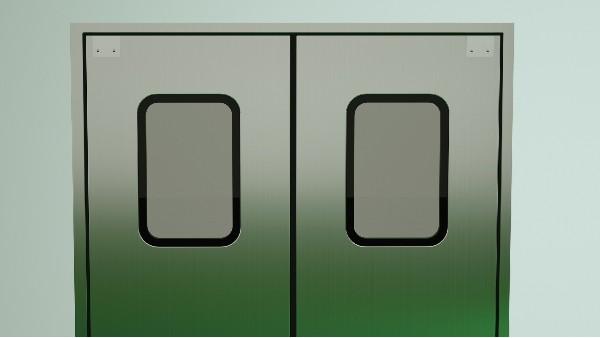 为何众多行业的净化区域都钟爱使用钢制洁净门?-【林森易洁门】