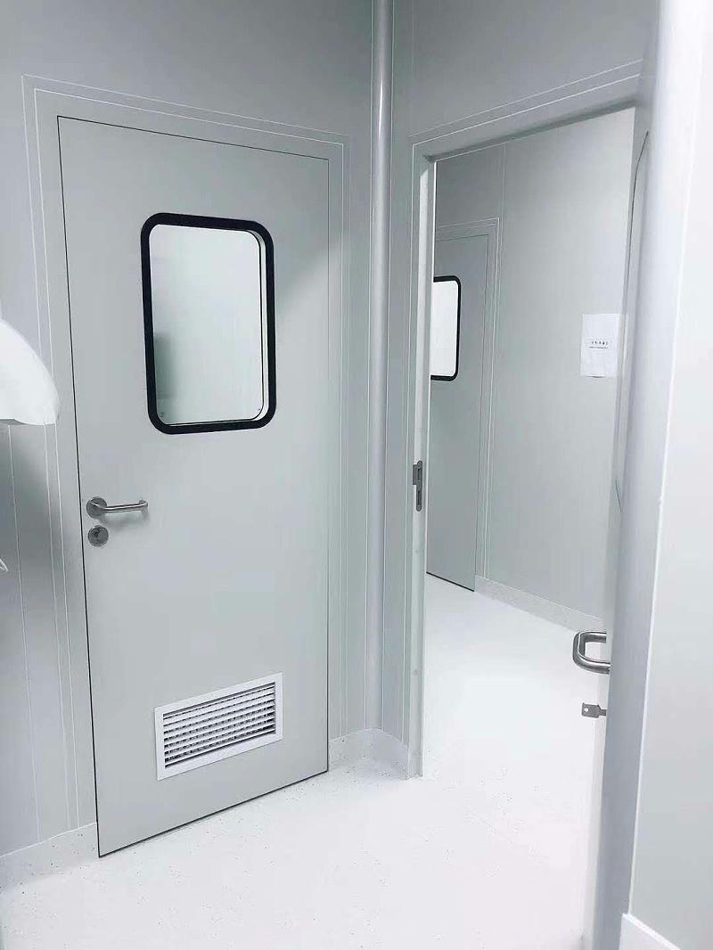 检验钢制洁净门定制质量好坏的方法技巧
