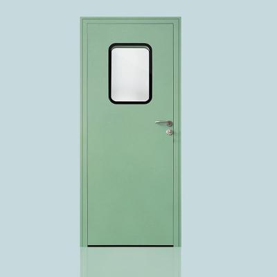 钢制洁净门机制板门套式