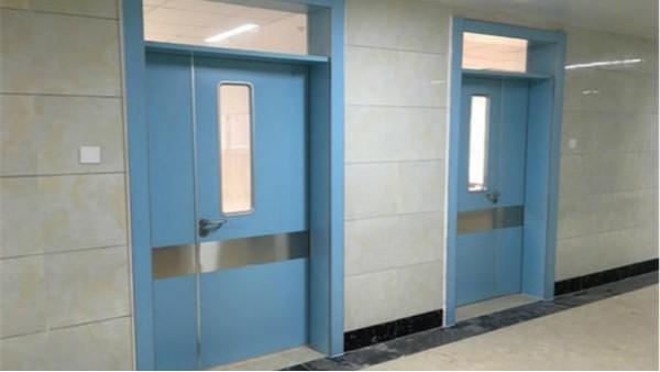 钢制洁净门的作业条件和施工准备