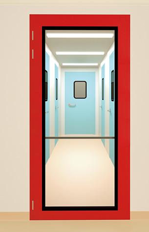 安全洁净门