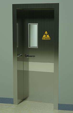 防辐射手动门