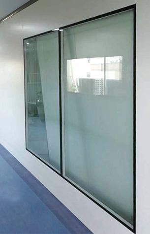 中空洁净窗手工板式